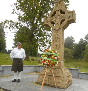 Jim At The Oregon Famine Memorial