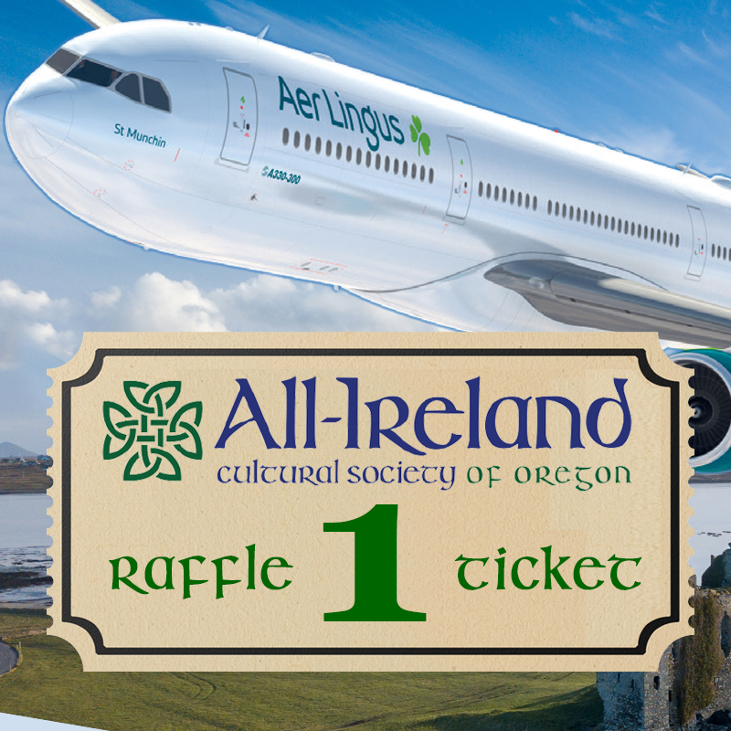 win aer lingus round trip tickets to Ireland
